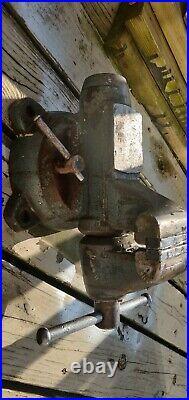Vintage Wilton Bullet vise 5 jaws Swivel Base No. 1750
