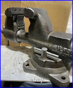 Vintage Wilton C1 Bullet Bench Vise With Swivel Base Made In USA
