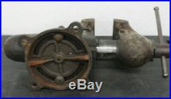 Vintage Wilton C1 Chicago Bullet Vise Swivel Base Machinist Jaws USA Workbench