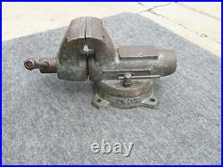 Vintage Wilton Glisenti # 125 Bullet Swivel Base Vise 5 Jaws Made in Italy