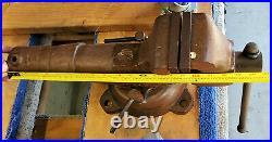 Vintage Wilton Machinist Bullet Bench Vise 4 Jaws Swivel Base RARE