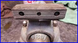 Vintage Wilton No. 3 Bullet Vise Patent Pending Chicago Swivel Base Made in 1945
