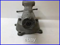 Vintage Wilton No. 3 Bullet Vise With Swivel Base, Chicago, Early 1940s