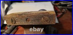 Vintage Wilton No. 3 Bullet Vise With Swivel Base and original Jaw Covers