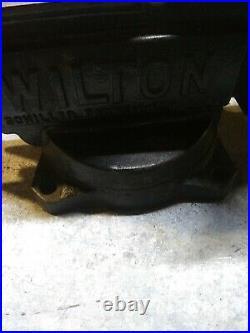 Vintage Wilton Schiller Park 5 Inch Jaws Swivel Base Pipe Holder Anvil Vise