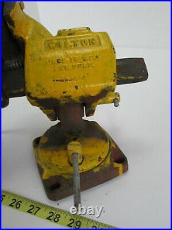 Vintage Wilton Vise 121079 4 Jaw Tilting Vise Swivel Base Bench Table Mount