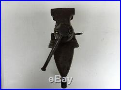 Vintage Wilton baby bullet vise with RARE Wilton swivel clamp base