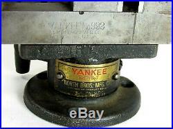Vintage Yankee North Bros # 992 Swivel Base Vise Inv T6076