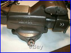 Vtg Craftsman Base Swivel Bench Vise 506-51810 Made in USA- HD 5 jaws