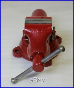 WILTON #101028 HD Swivel Base BULLET MACHINIST VISE 4 In. Jaws