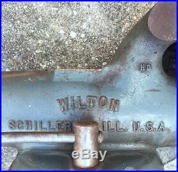 WILTON #101028 HD Swivel Base BULLET VISE 4 In. Jaws