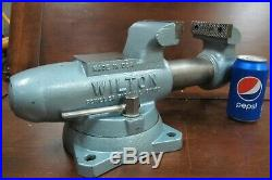 WILTON 3-1/2' SWIVEL BASE BENCH VISE No. 350S / MACHINISTS' VISE