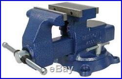 WILTON 4600 6-1/2 Standard Duty Mechanics Combination Vise with Swivel Base