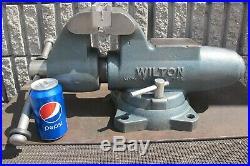 WILTON 5 MACHINISTS' SWIVEL BASE VISE No. 500