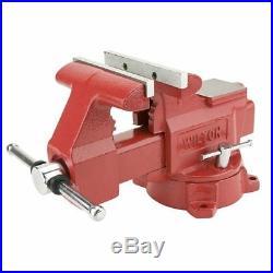 WILTON 675 5-1/2 Standard Duty Combination Vise with Swivel Base