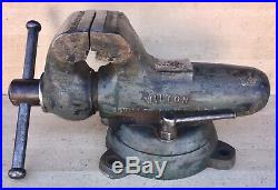 WILTON 9400 HD BULLET VISE 4'' Jaws Swivel Base Machinist Tool Very Good User