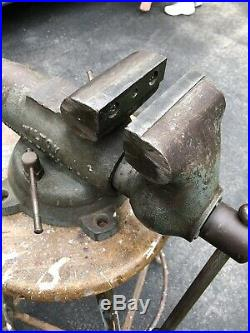 WILTON BULLET VISE 4'' Jaws & Swivel Base Machinist Tool