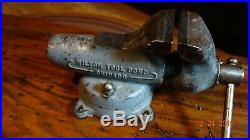 WILTON Bullet Vise No. 3 CHICAGO with Swivel Base, Early (1941-1942)