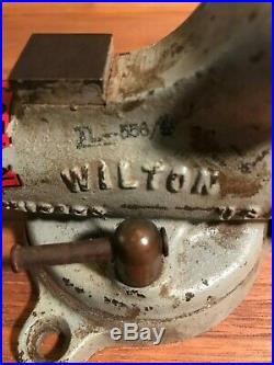 WILTON Bullet Vise Swivel Base No. 20-2 JAWS