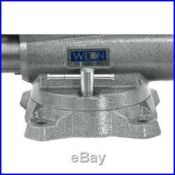 WILTON Mechanics Pro Vise 10 Jaw Width, 12 Jaw Opening, 360° Swivel Base 28814