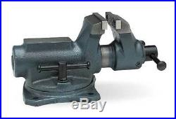 WILTON SBV-100 4 Light Duty Combination Bench Vise with Swivel Base