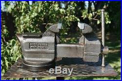 WILTON UTILITY VISE 5 1/2'' JAW, WithSWIVEL BASE & PIPE GRIP, 26 LB VICE MADE IN USA