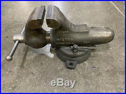 WILTON Vise 4 1/2 jaws & Swivel Base Great condition