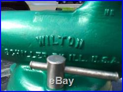 WILTON Vise Bullet bench vise 9400 HD model with Swivel Base Restored 4 Jaws