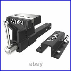 Wilton 10010 6 Inch Jaw ATV All Terrain Steel Base Anvil Hitch Mounted Vise