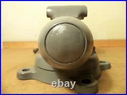Wilton 101033 4.5 Inch Jaw Machinist Bullet Vise Vice swivel base welded jaw