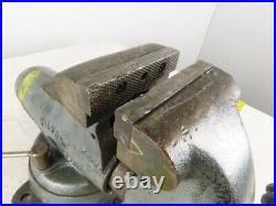 Wilton 101059 Vintage 5 Jaw 8 Open Swivel Base Bullet Bench Vise