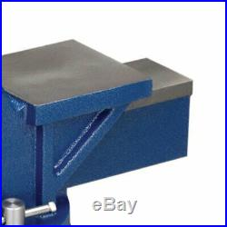 Wilton 11106 6 Jaw General Purpose Steel Swivel Base Anvil Bench Vise, Blue