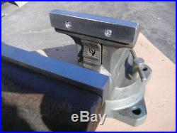 Wilton 1750 5 Jaw Tradesman Bench Vise with Swivel Base