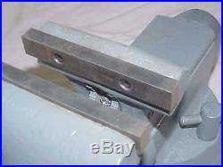 Wilton 1750 5 Jaw Tradesman Bench Vise with Swivel Base billet vintage