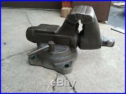 Wilton 1750 Tradesman 5 Bench Vise Pipe Jaw swivel base