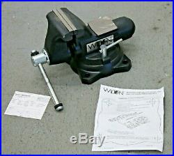 Wilton 1755 Vise with Swivel Base & 5-1/2 Serrated Jaws Vice 63200 Made in USA