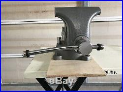 Wilton 1780A 8 Tradesman Bench Vise withSwivel Base Never Used! Bent Handle
