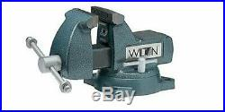 Wilton 21300 Mechanics Bench Vise, 744, 4 Jaw Width, 4-1/2 Jaw, Swivel Base