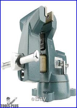 Wilton 21400 Mechanics Vise 5 Width Swivel Base New