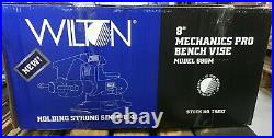 Wilton 28813 Mechanics Pro Vise 8 Jaw Width, 8-1/2 Jaw Opening, 360° Swivel