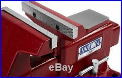 Wilton 28819 Utility Bench Vise 5-1/2 Jaw, 5 Jaw Opening, 360 Swivel Base