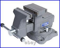 Wilton 28821 5.5 Mechanics Vise Reversible Jaw With Swivel Base Brand New