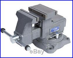 Wilton 28823 8 Mechanics Vise Reversible Jaw With Swivel Base