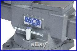Wilton 28823 Reversible Bench Vise 8 Jaw Width with 360 Swivel Base