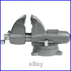 Wilton 28827 C-2 Combo Pipe & Bench 5 in. Vise with Swivel Base New