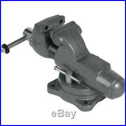 Wilton 28830 300S 3 Machinist Jaw Round Channel Vise with Swivel Base