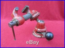 Wilton 2 Baby Bullet 820 Machinist Bench Vise On Powrarm Junior Ball Base NICE