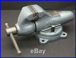 Wilton 300S Bullet Vise with Swivel Base & 3 Jaws Schiller Park USA Vice 10006