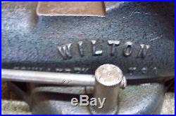 Wilton 300 Bullet Vise, with Swivel Base & 3 Aluminum Jaws, USA Vice