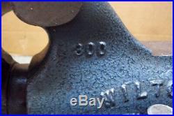 Wilton 300 Bullet Vise, with Swivel Base & 3 Aluminum Jaws, USA Vice